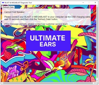 Ultimate Ears Megablast - Ultimate Ears Support Ultimate