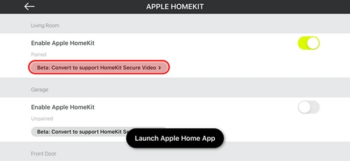 Convert to Support HomeKit