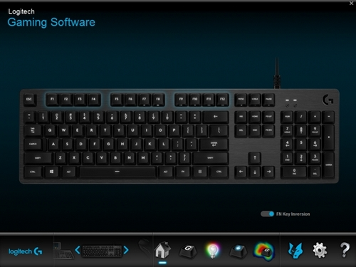Game Mode and backlight control on the G413, G512 and G513 gaming